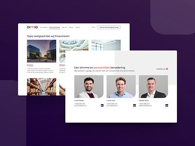 OIMIO development webdesign interface ux design ui