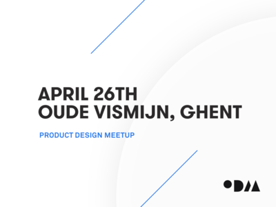 PRODUCT DESIGN MEETUP 2018