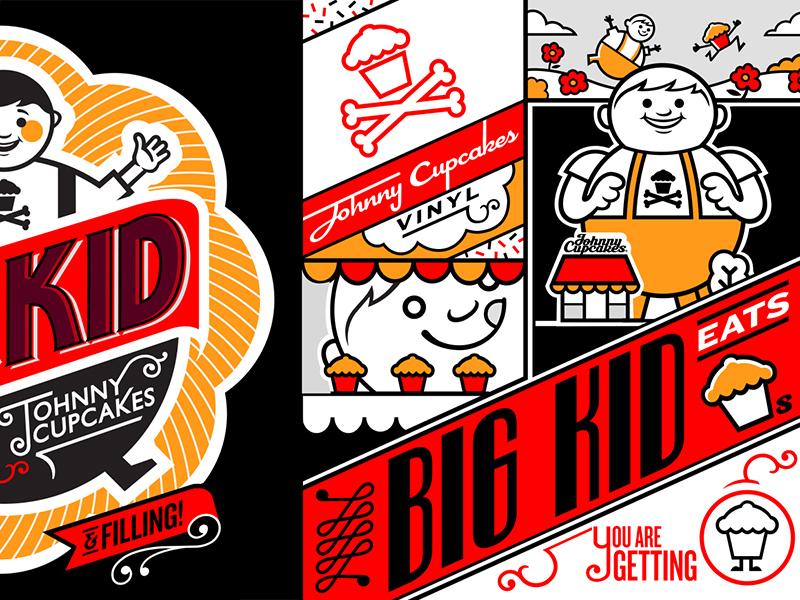 Johnny Cupcakes Big Kid johnny cupcakes big kid packaging toy vinyl vintage
