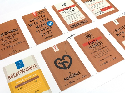 Coffee Packaging Explorations