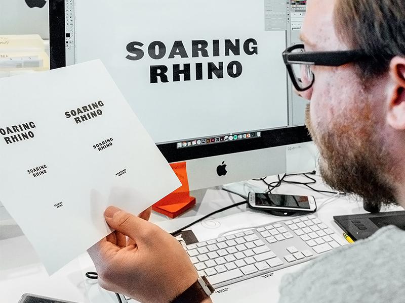 SR Typography Refinements board games games mobile rhino soaring typography brand development branding