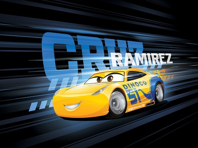 CARS 3 Licensing Artwork consumer products apparel merchandising licensing artwork licensing cars 3
