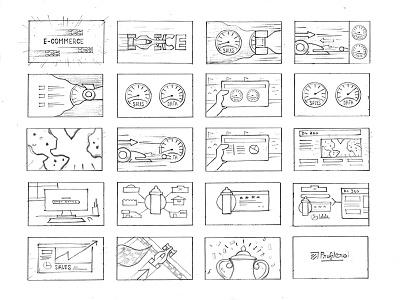 Storyboards racing data analytics animation sketches storyboard profitero