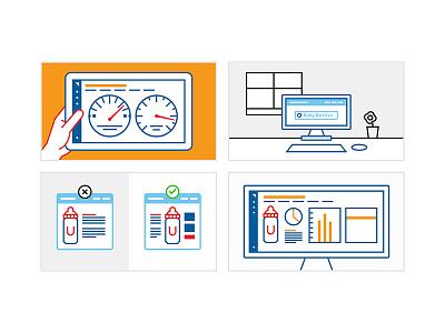 Animation Frames racing data analytics animation sketches storyboard profitero