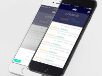 Finance Reports - Mockup
