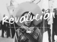 Revolución Rides cycles bicycle logo branding