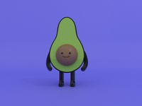 Naked Avocado WIP 01