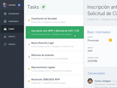 Tasks symbolset tasks selected nav sidebar panel menu sspika