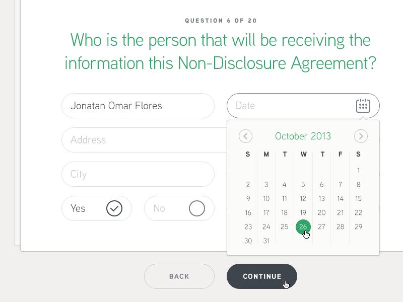 Forms App #2 export next questions steps survey form