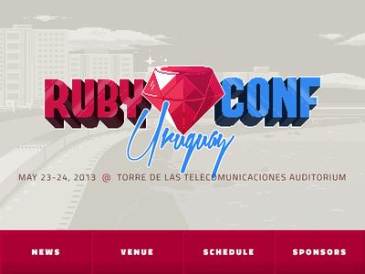 RubyConf Uruguay (8-bit)