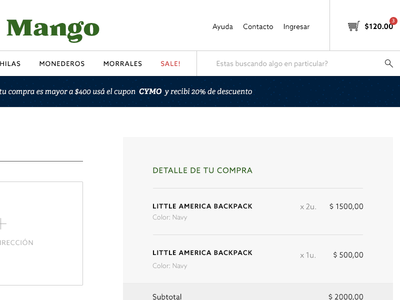 OnePage Checkout