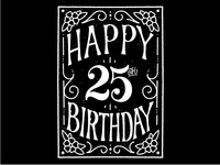 Mo's 25th Birthday