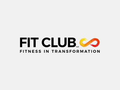 Fit Club adobe illustrator graphic design logo design logo