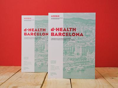 Moebio corporate corporate image brochure health bio