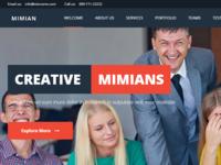 Mimian - Multipurpose One Page WordPress Theme