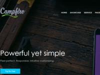 Campfire | One Page Multipurpose WordPress Theme