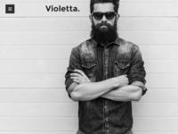 Violetta | Creative Agency Minimal Responsive WordPress Theme