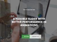 Meder - Creative One Page Parallax WordPress Theme