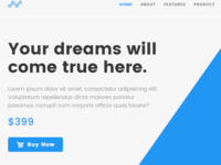 Blue - WordPress Theme For Building Landing Pages