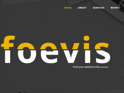 Foevis - A WordPress Theme For Creative Agency wordpress visual composer responsive portfolio personal parallax one page modern html5 creative bootstrap agency