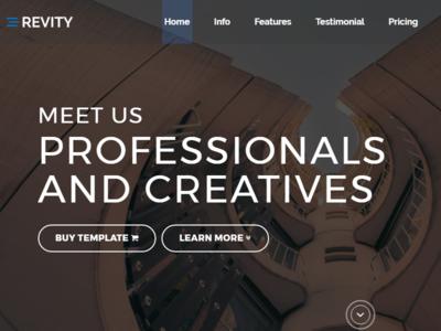 Revity - Multipurpose Responsive WordPress Theme wordpress visual composer responsive portfolio personal parallax one page modern minimal html5 bootstrap agency