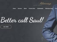 SaulsAttorneys - Lawyers & Attorneys WordPress Theme