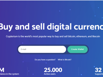 Crypterium - Cryptocurrency WordPress Theme and ICO Landing Page exchange digital crytpo currency currency exchange crypto template crypto currency crypto calculator coin currency blockchain bitcoin wordpress theme bitcoin