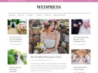 WedPress - Responsive WordPress Wedding Magazine Theme