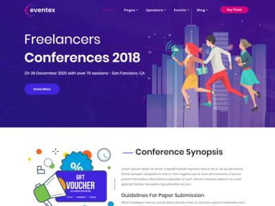 Eventex - Multiple Events Responsive WordPress Theme