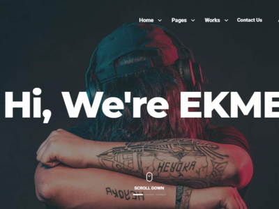 Ekme - One Page WordPress Landing Pages Theme woocommerce portfolio parallax page builder multipurpose modern marketing landing page creative corporate clean business bootstrap app agency
