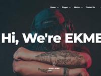 Ekme - One Page WordPress Landing Pages Theme
