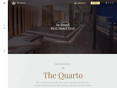 The Quarto - Responsive Modern WordPress Hotel Theme vacation travel room responsive resort reservation quarto premium luxury hotel holiday fancy bootstrap booking accommodation