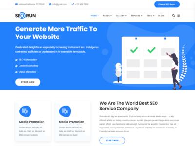 Seorun - Digital Marketing Agency WordPress Theme