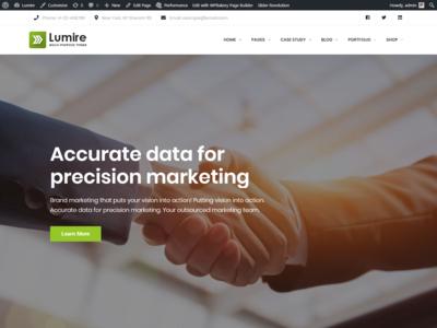 Lumire - Multipurpose Clean WordPress Theme responsive portfolio multipurpose modern financial finance creative corporate consulting company clean business blog attorney agency