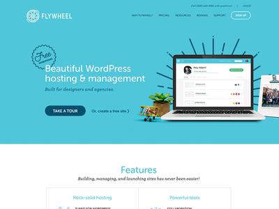 Flyhweel Homepage