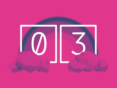 2017 Design Trends - Colorful Gradients gradient rainbow type treatment type numbers minimal 2 color duotone
