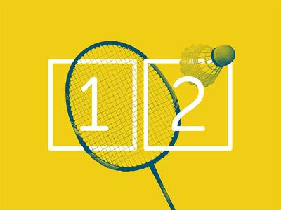 2017 Design Trends - Grid Design badminton modular grid type treatment type numbers minimal 2 color duotone