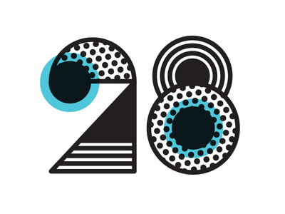 Alternative Concept 2 - Flywheel's 28 Days of Design Identity