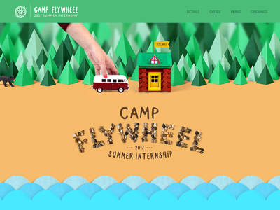 Camp Flywheel - Microsite
