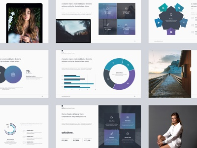 Bepro Business Multipurpose Presentation Template By Simplesmart On Dribbble
