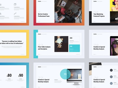 Capitan - Creative & Minimal Presentation Template