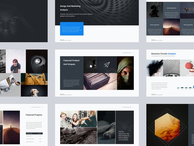 Miza - Minimal & Creative Presentation Template