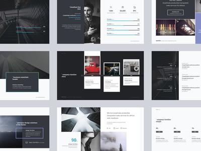 Martin - Business & Minimal Presentation Template