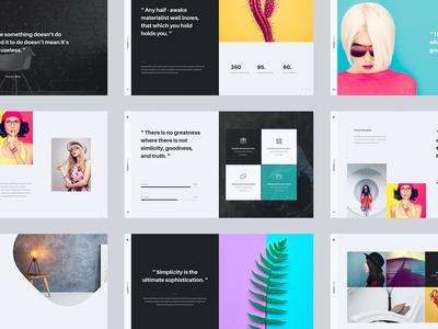 Kloe - Minimal & Creative Presentation Template