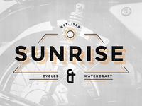 Sunrise Vintage Logo