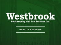 Westbrook Bookkeeping And Tax - Website Redesign