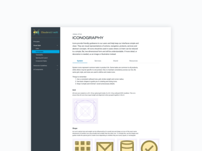 Product Iconography Guidelines