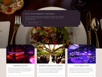 Luxury Catering Redesign Proposal