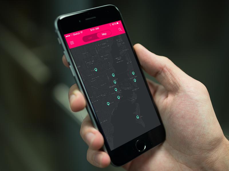 Current iOS Project app ios navigation design ui ux navbar segmented control