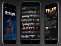 70k Of Metal App Concept heavy metal concept 7000tons list bands app festival metal